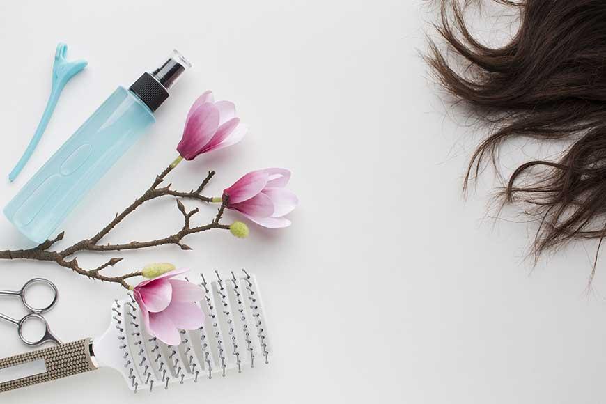 ricetta spray termoprotezione capelli